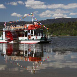 Rejs statkiem po jeziorze Czorsztyńskim